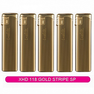 Зажигалка XHD 118 Gold Stripe SP