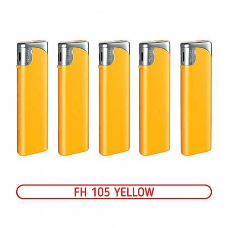 Зажигалка FH-105 YELLOW