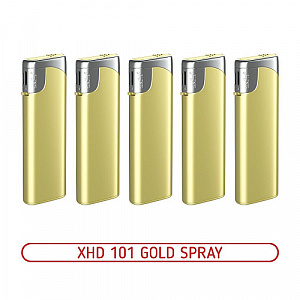 Зажигалка XHD 101 Gold Spray