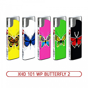 Зажигалка XHD 101 WP Butterfly 2