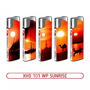 Зажигалка XHD 101 WP Sunrise